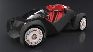 automobil imprimat 3D