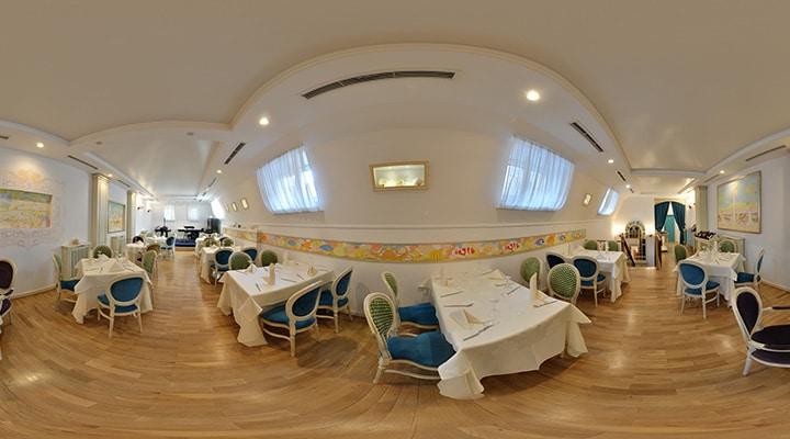 Restaurant octopus tur virtual si fotografie panoramica