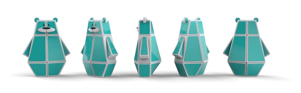 Noi jucarii imprimate 3D – ursuletul Ozo