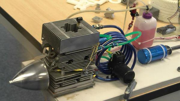 Motor de avion imprimat 3D în România